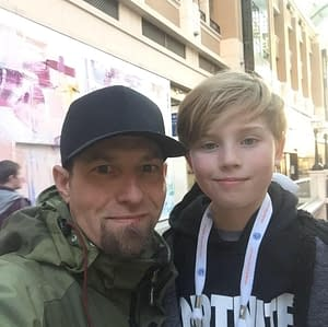 picture of John and Chase Hansen